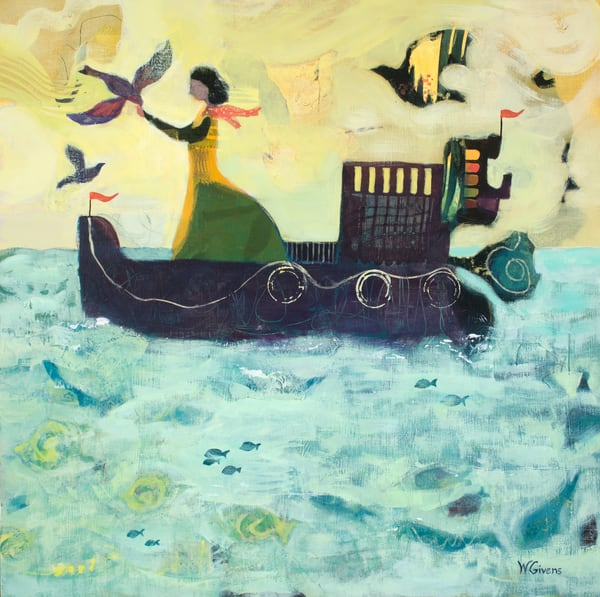 She Made A Difference Wherever She Went Art | Wendy Givens Art