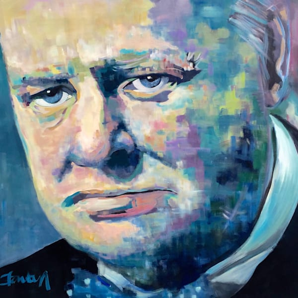 Winston Churchill Art | Atelier Steph Fonteyn
