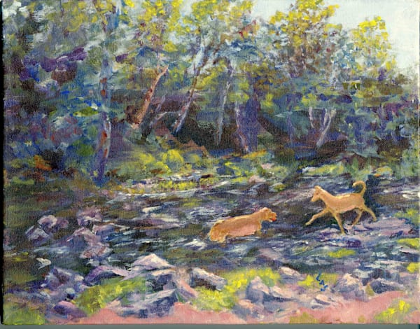 Playtime At Beaver Brook: Waltham, Mass.  Art | East End Arts