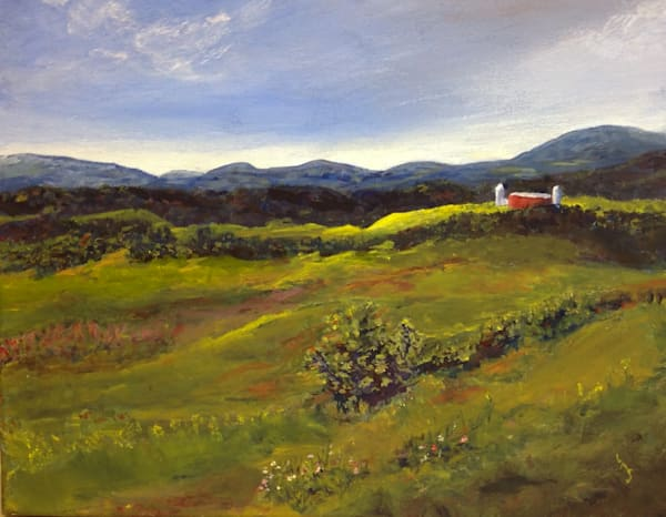 August: Pownal Valley, Vermont  Art | East End Arts