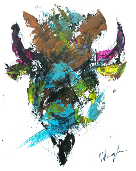 Pink horns / Bison