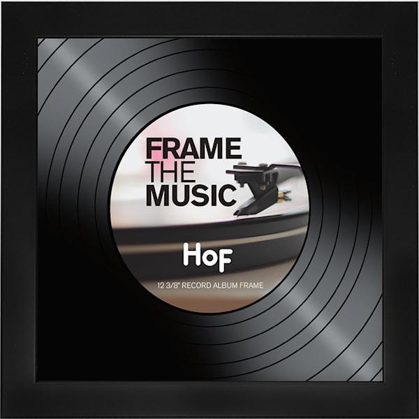 Black Record LP Frame
