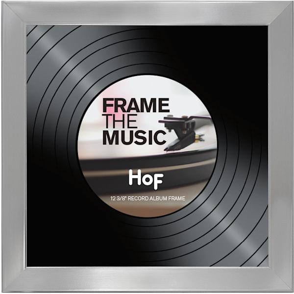 Silver Record LP Frame