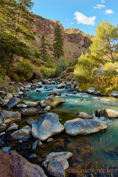 Red River 9973 | New Mexico Photography | Koral Martin Fine Art Photography