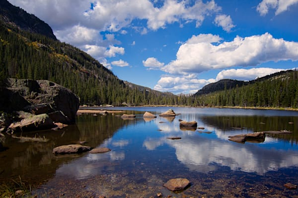 Mills Lake Photograph 5072 | Rocky Mountain National Park | Colorado Photography | Koral Martin Fine Art Photography