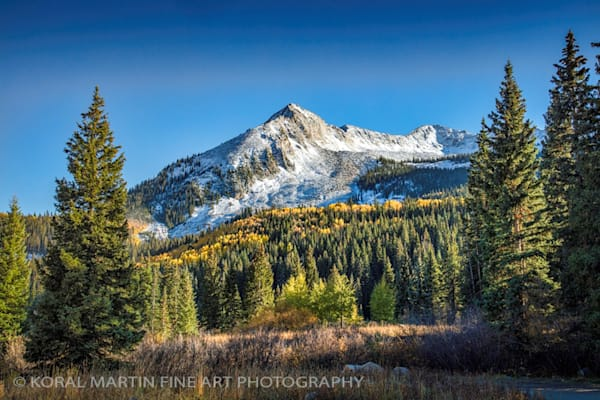 Snow Capped Mountain 8907 | Colorado Photography | Koral Martin Fine Art Photography