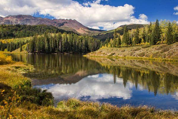 Woods Lake Photograph 8591 | Colorado Photography | Koral Martin Fine Art Photography