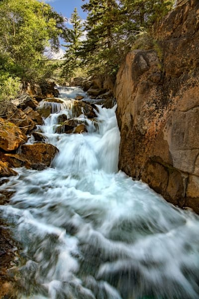 Waterfall Cement Creek Photograph 3673 | Colorado Photography | Koral Martin Fine Art Photography