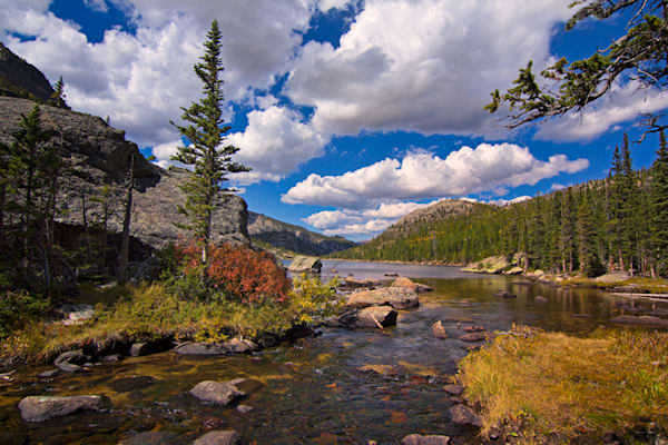 Mills Lake RMNP Photograph 5053 | Colorado Photography | Koral Martin Fine Art Photography