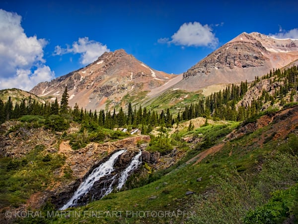 Yankee Boy Waterfall 1503 54 Photograph | Colorado  Photography |  Koral Martin Fine Art Photography