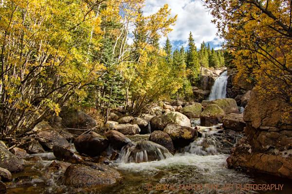 Alberta Falls Photograph 5343 | Colorado Photography | Koral Martin Fine Art Photography
