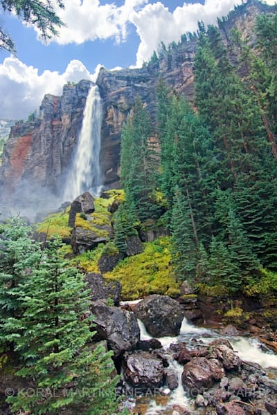 Bridal Veil Falls Telluride Photograph 7157 | Colorado Photography | Koral Martin Fine Art Photography