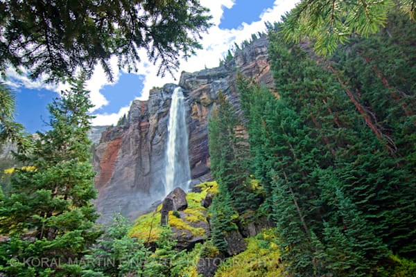Bridal Veil Falls Telluride Photograph 7137 | Colorado Photography | Koral Martin Fine Art Photography