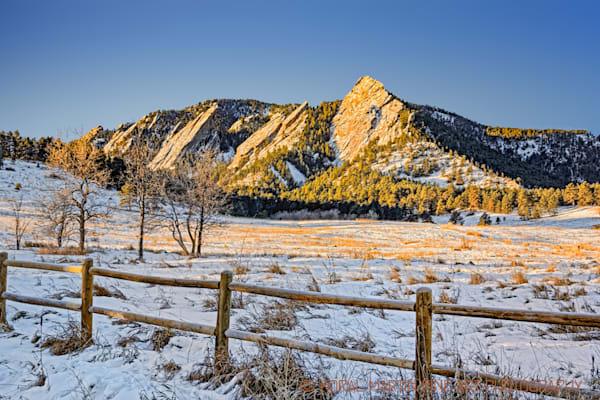 Chautauqua Flatirons Photograph 8542   Colorado Photography   Koral Martin Fine Art Photography