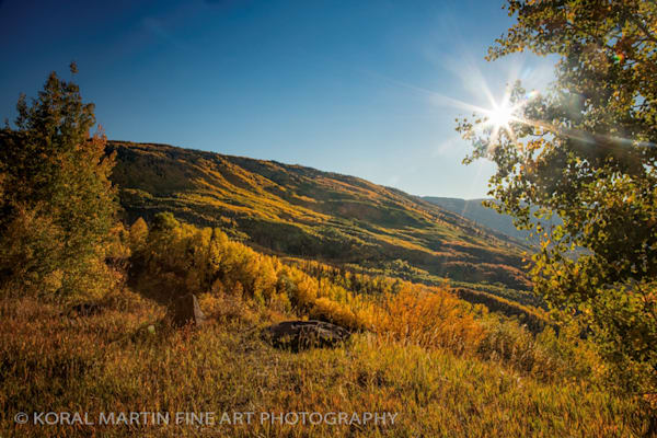 Lost Lakes Kebler Pass Photograph 9450 | Colorado Photography | Koral Martin Fine Art Photography