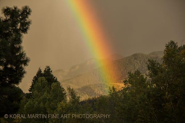 Ouray Rainbow Photograph 6654 | Colorado Photography | Koral Martin Fine Art Photography