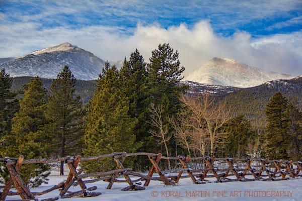 Colorado Mountains in the Winter Photograph 8363 | Colorado Photography | Koral Martin Fine Art Photography