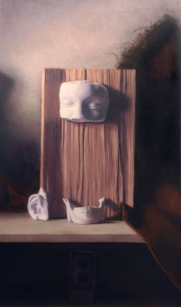 Still life painting, plaster painting, interesting still life