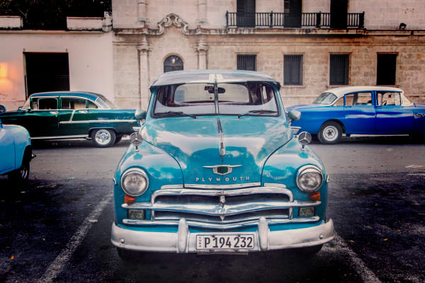 Taxi Line:  Cuban Photography by Shane O'Donnell