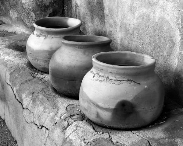DP430 Mission Pots B&W