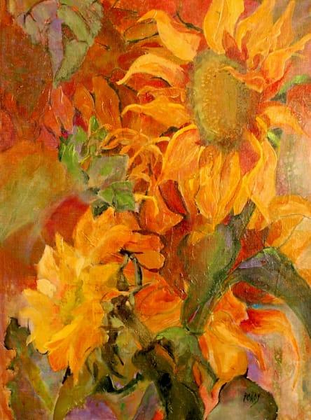 Sunflower Glory Art | PoroyArt