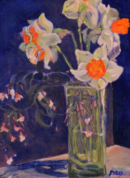 Daffodil And Jasmine Art | PoroyArt