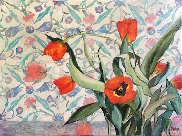 Turkish Tulips Art | PoroyArt