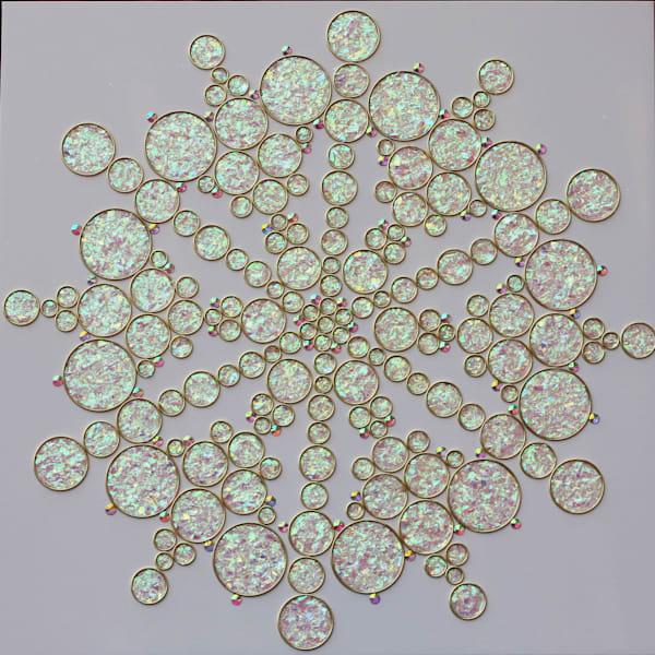 Neutron Star by Jasmine Virginia | SavvyArt Market original abstract Mixed Media painting