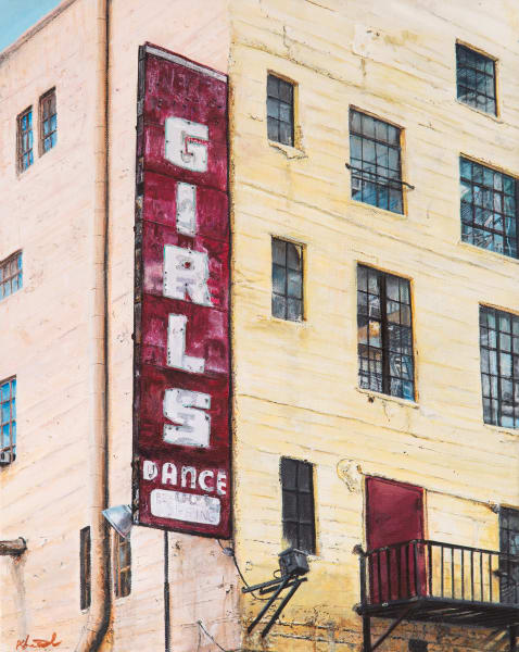 Girls Dance:  Shop Fine Art Reprints of Paintings by Artist Shane O'Donnell