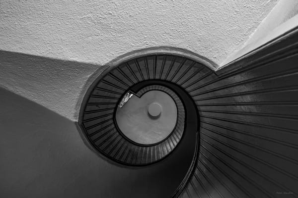 DP437 Old Point Loma Lighthouse Staircase