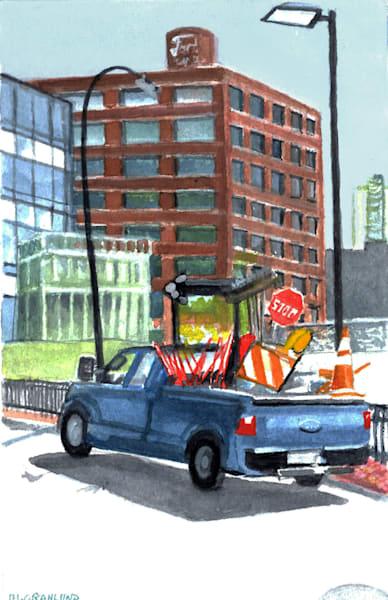 Work Truck by Mark Granlund