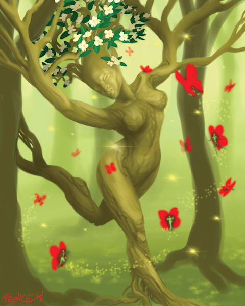 The Dryad's Escape