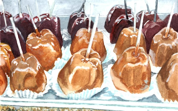 Caramel Apples by Mark Granlund