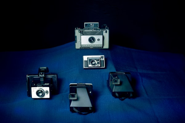 A Fine Art Photograph of Old Cameras by Michael Pucciarelli