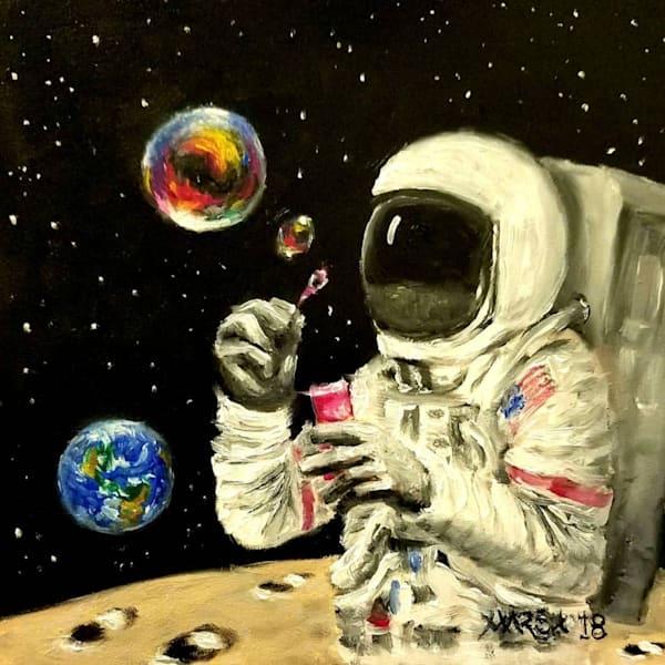 Blowing Bubbles Fine Art Prints