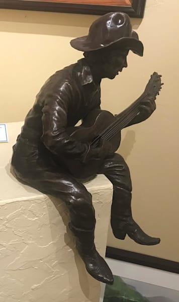 Guitar Player by Jim Gruzalski