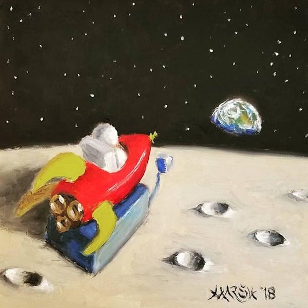 Rocket to Earth Fine Art Prints