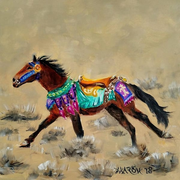Wild Carousel Horse Fine Art Prints
