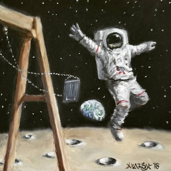 Leaping Over Earth Fine Art Prints