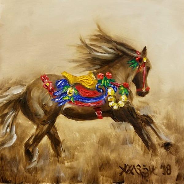 Carousel Horse Getting Away Fine Art Prints