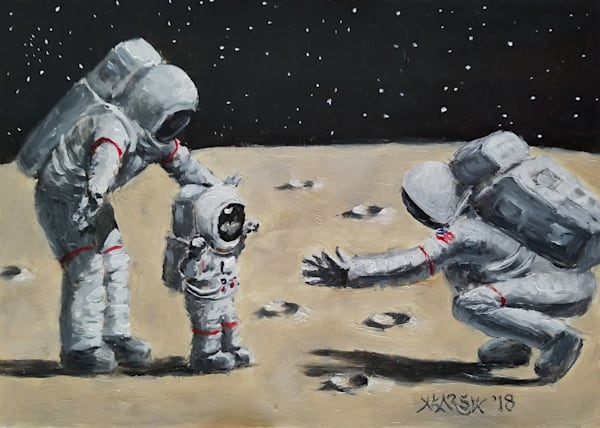 One Small Step Fine Art Prints
