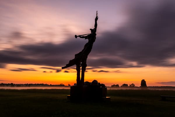 Gettysburg Sunrise 2 Art   Brandon Hirt Photo