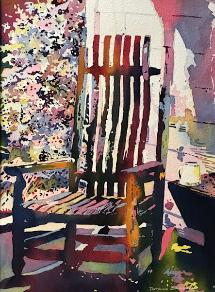 Morning Coffee on the Porch.  Shop Prints/ Patrice Cameron Art