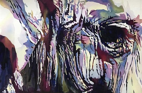 Contemporary Vibrant Elephant Painting.  Shop Prints/ Patrice Cameron Art.