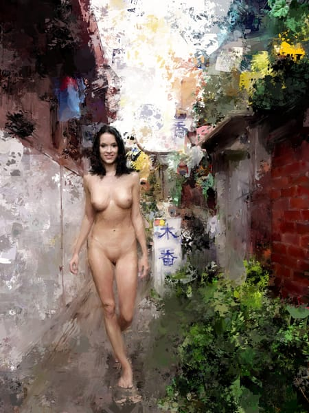 """Naked in Seoul"" by Eric Wallis."