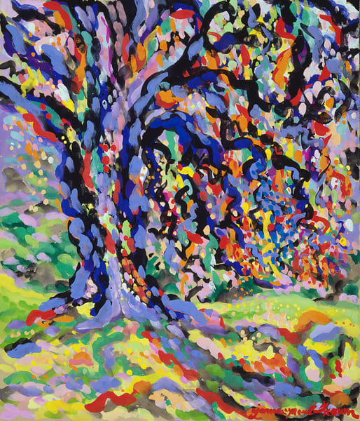 Magic Tree I By James Paul Brown Art | Artiste Winery & Tasting Studio