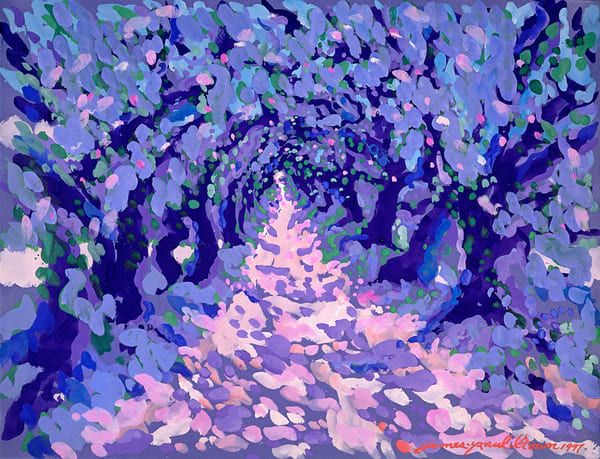 Secret Path Ii By James Paul Brown Art | Artiste Winery & Tasting Studio