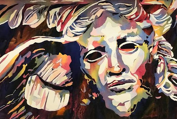 Spectacular Self Portrait: ShadowAngel.  Shop Prints/ Patrice Cameron Art