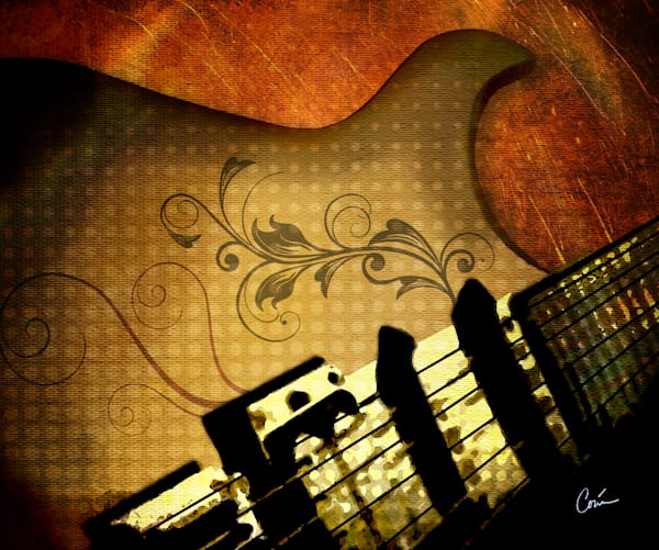 Corina Bakke / Corina Gallery Guitar Art Paintings and Rock and Roll