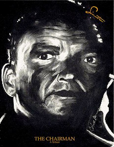 Frank Sinatra, Frank Sinatra The Chairman, The Tribute Series, Celebrity Originals, Celebrity Original, Original Art Painting